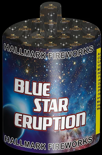 Hallmark Blue Star Eruption